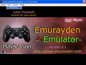 Emurayden - Emulador PlayStation Download