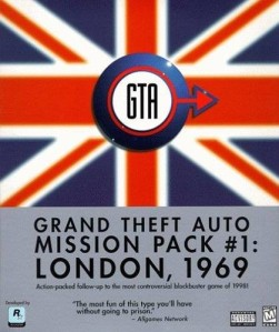 Grand Theft Auto - London 1969: PS1 Download Completo