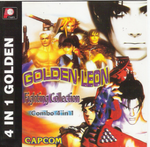 4 x 1 Golden Leon Fighting Collection: PS1 Download games grátis