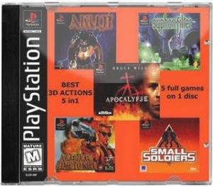 5 IN 1 BEST 3D ACTION: PS1 Download games grátis